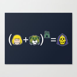 He-Math Canvas Print