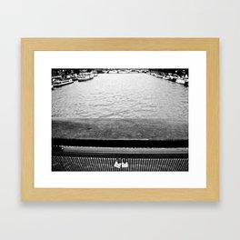 NOTIMELOVERS Framed Art Print