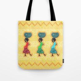 African mosaic Tote Bag
