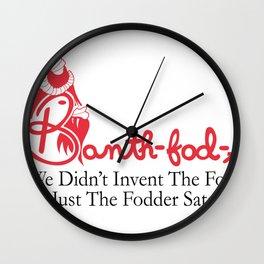 Banth fod A Wall Clock