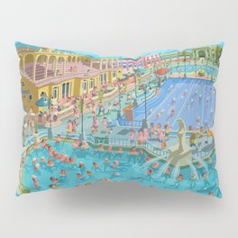 Szechenyi bath Budpest Pillow Sham