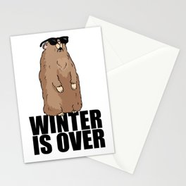 Marmot Summer Winter Spring Cool Gift Stationery Cards