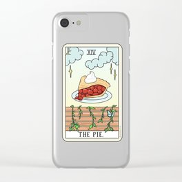 PIE READING Clear iPhone Case