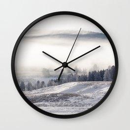 Hayden Valley Wall Clock