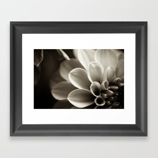Swirling Thoughts in My Head Framed Art Print