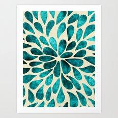 Petal Burst #20 Art Print