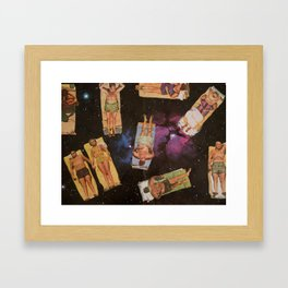 SPACE HOLIDAY Framed Art Print