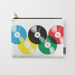 Olympic Rings Vinyl Record Set Carry-All Pouch