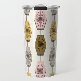 Mid Century Modern Pattern Travel Mug