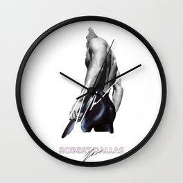 """CHOCOLATE CAKE"" BY ROBERT DALLAS Wall Clock"