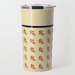 Preppy Houndstooth Travel Mug