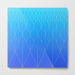 Neo Rhombs Metal Print
