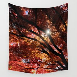 Piercing thru the Shade Wall Tapestry