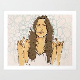 Fuck OFF! Art Print