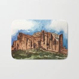 A Mighty Fortress Bath Mat