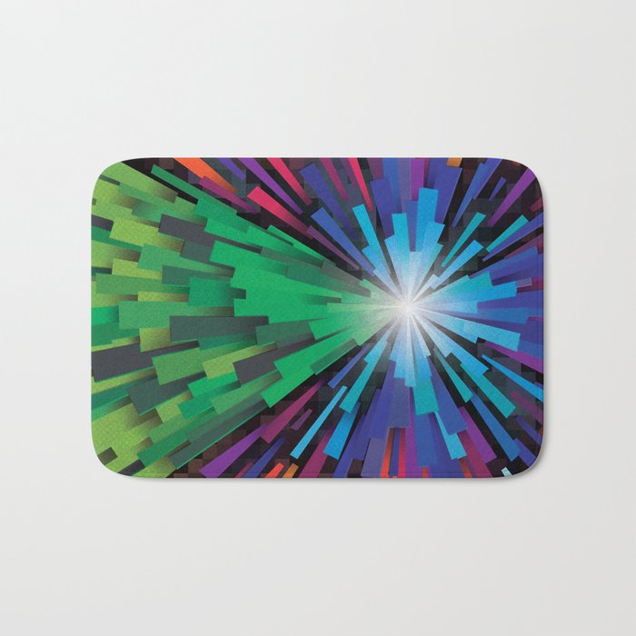 Light the tree Bath Mat