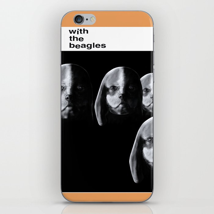 With the Beagles iPhone Skin
