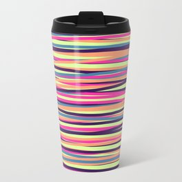Colored Lines #4 Travel Mug