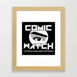 Comic Watch v4 Framed Art Print
