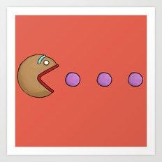 Gumdrop Buttons Art Print