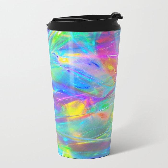 HighVisibilityRainCoat Metal Travel Mug