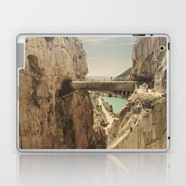 """The most dangerous trail in the world"". El Caminito del Rey Laptop & iPad Skin"