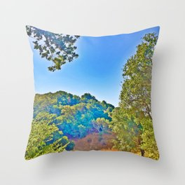 Sleepy Hollow Tree Doorway Throw Pillow