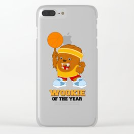 Wookie of the Year Clear iPhone Case