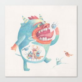 Comer Canvas Print