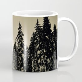 Snow Day Cypress Mountain BC Canada Coffee Mug