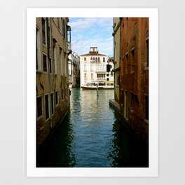Canal (Venice, Italy) Art Print