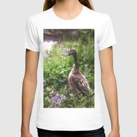 duck T-shirts featuring Duck by Terri Ellis
