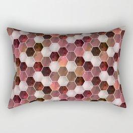 Polygonal 1 Rectangular Pillow