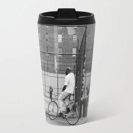 New York Basketball III Travel Mug