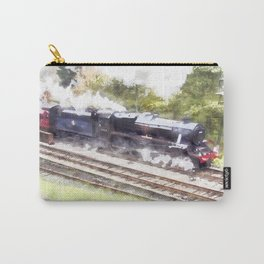 Scarborough Spa Express in Water colour Carry-All Pouch