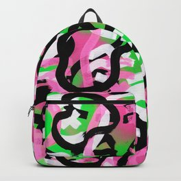 Rhythm in the Neon Forest Backpack