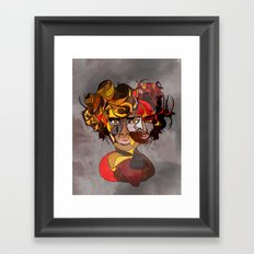 Gurl, Please Framed Art Print