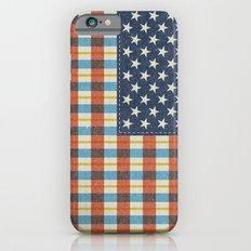 Plaid Flag. iPhone 6s Slim Case