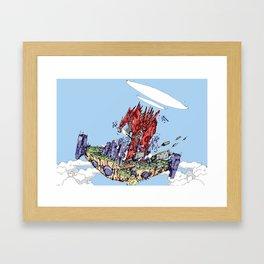 I Bear Grudges Framed Art Print
