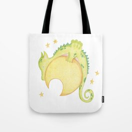 dragon & moon Tote Bag