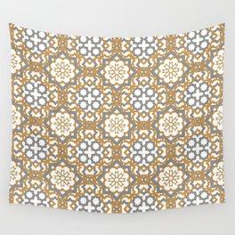 Geometric Pattern - Oriental Design Wall Tapestry