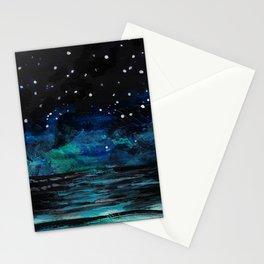 Starlit Sea Stationery Cards