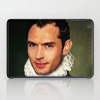 law iPad Cases featuring Jude Law by Kimberley Britt