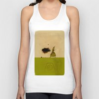 avatar the last airbender Tank Tops featuring Avatar Kyoshi by daniel