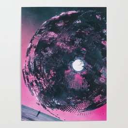 scifi fantasy illustration Poster