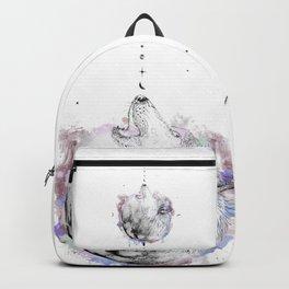 La Loba (White) Backpack