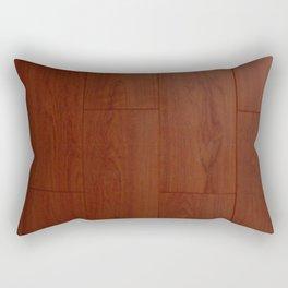 Wood floor Rectangular Pillow