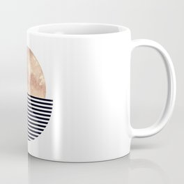 Rose Gold Sun - Scandinavian Art Coffee Mug