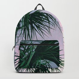Sunset Palms jungalo tropical Backpack