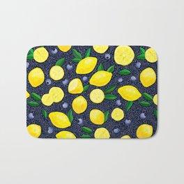 Lemon Blueberry Tart Bath Mat